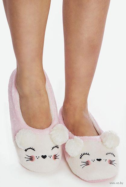 "Тапочки женские ""17SL-549-5"" (розовые) — фото, картинка"