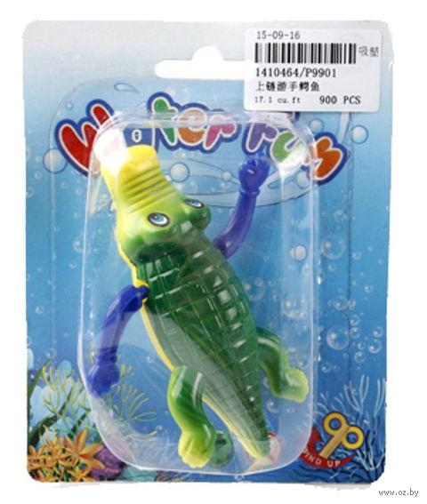 """Заводная игрушка для купания """"Крокодил"""""""