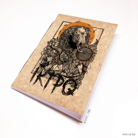 """Блокнот крафт """"IKTPQ"""" (А5; арт. 120) — фото, картинка"""