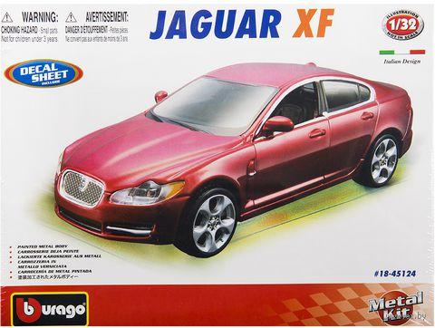 """Модель машины """"Bburago. Jaguar XF"""" (масштаб: 1/32)"""
