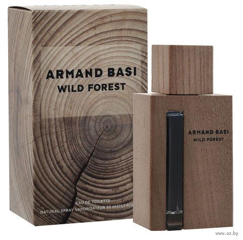 """Туалетная вода для мужчин Armand Basi """"Wild Forest"""" (50 мл)"""