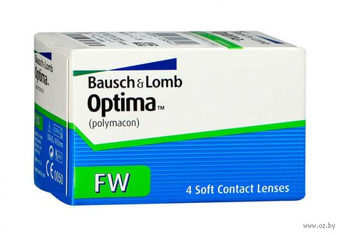 "Контактные линзы ""Optima FW"" (1 линза; -2,75 дптр; 8,4 мм) — фото, картинка"