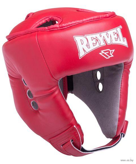 Шлем открытый (L; красный; арт. RV-302) — фото, картинка