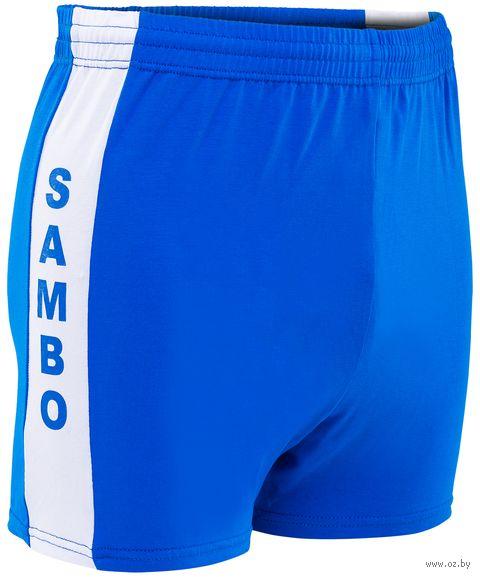 Шорты для самбо (р. 52; синие) — фото, картинка