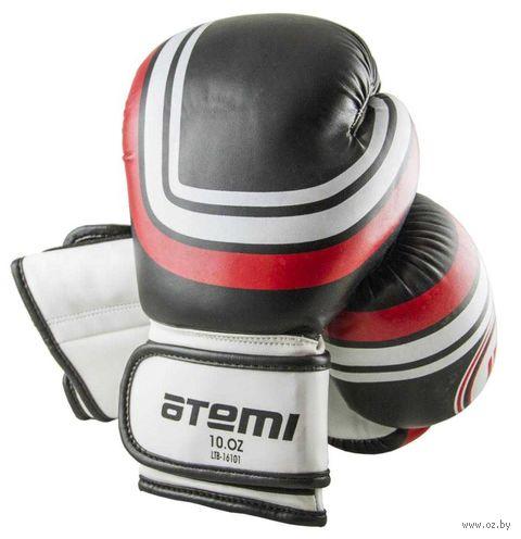 Перчатки боксёрские LTB-16101 (L/XL; чёрные; 14 унций) — фото, картинка