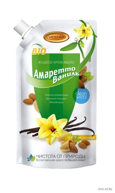 """Жидкое крем-мыло """"Амаретто и ваниль"""" (500 мл) — фото, картинка"""