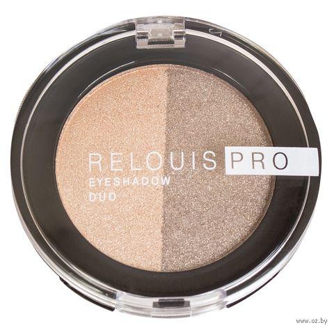 "Тени для век ""Relouis Pro Eyeshadow Duo"" (тон: 112) — фото, картинка"