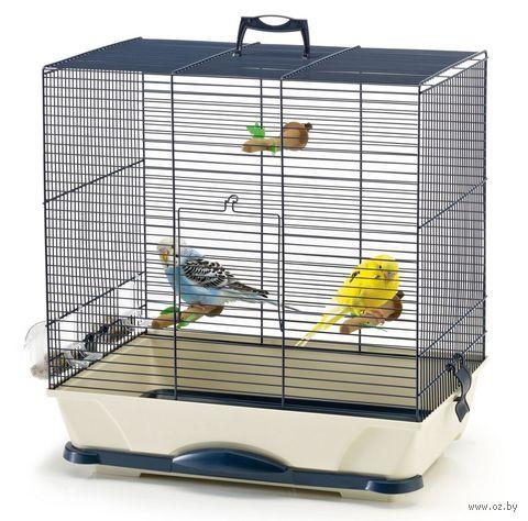 """Клетка для птиц """"Primo 40"""" (46x32x48 см; темно-синяя) — фото, картинка"""