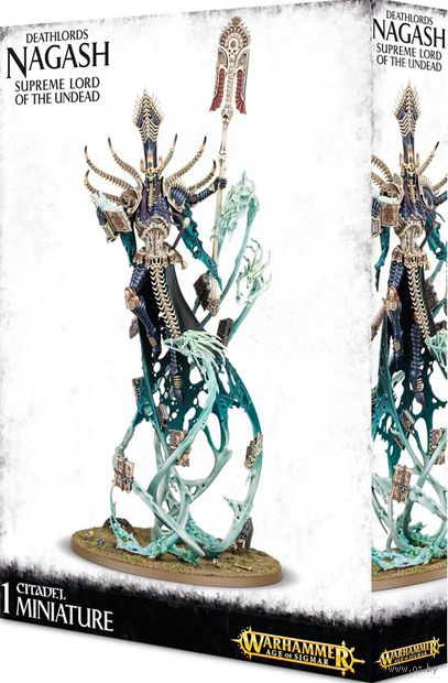 Warhammer Age of Sigmar. Deathlords. Nagash, Supreme Lord of the Undead (93-05) — фото, картинка