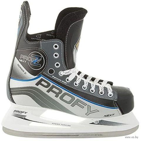 """Коньки хоккейные """"Profy Next Z"""" (р. 35) — фото, картинка"""