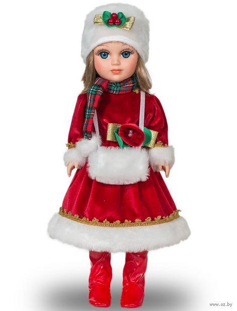 """Музыкальная кукла """"Анастасия. Новогодняя"""" (арт. В2473/о) — фото, картинка"""