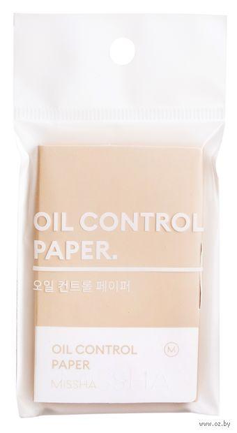 """Матирующие бумажные салфетки """"Oil Control Paper"""" (100 шт.) — фото, картинка"""