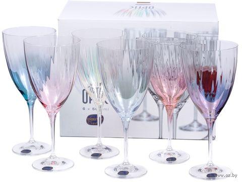 "Бокал для вина стеклянный ""Kate Optic"" (6 шт.; 500 мл) — фото, картинка"