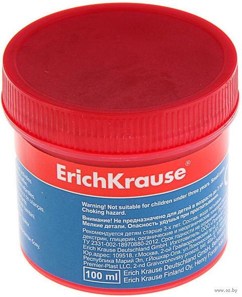 """Гуашь """"Erich Krause"""" (красная; 100 мл) — фото, картинка"""