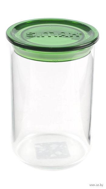 Банка для сыпучих продуктов стеклянная (800 мл; арт. 5152-D) — фото, картинка