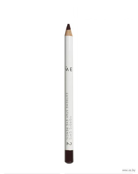 "Карандаш для глаз ""Eye pencil"" тон: 2, коричневый — фото, картинка"