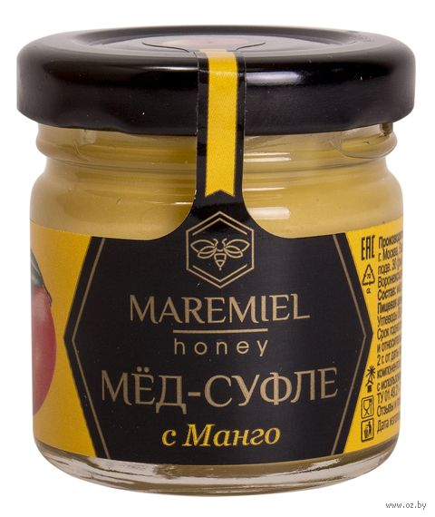 "Мёд-суфле ""Maremiel. С манго"" (40 г) — фото, картинка"