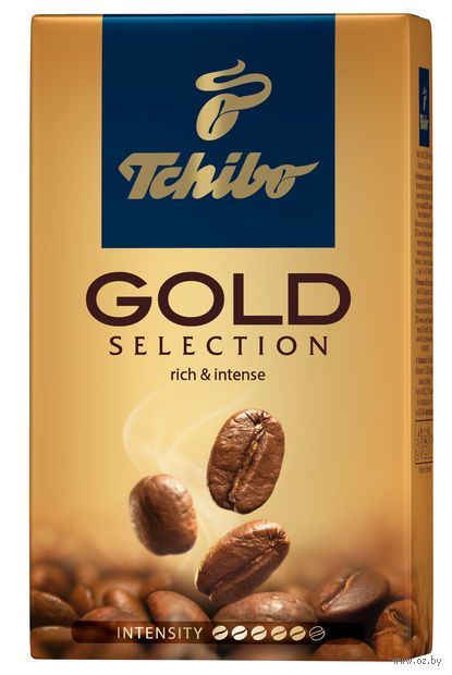 "Кофе молотый ""Tchibo. Gold Selection"" (250 г) — фото, картинка"