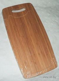 Доска разделочная бамбуковая (40*20*1,5 см)