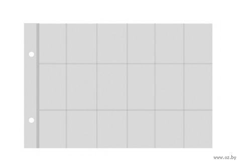 Лист для монет (24 ячейки; 22,5x16,5 см)