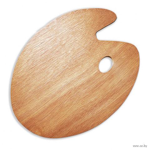 Палитра деревянная овальная (30x40 см)