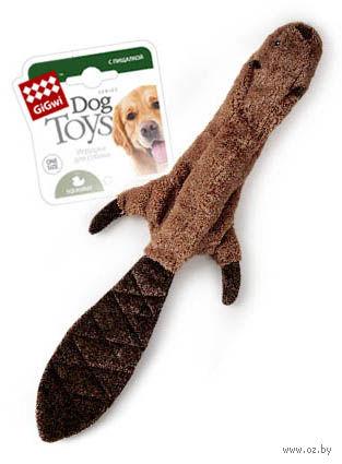 "Игрушка для собак ""Шкурка бобра"" (45 см) — фото, картинка"