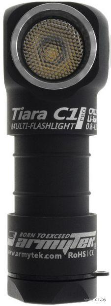 Фонарь Armytek Tiara C1 Pro v2 XP-L (белый свет) — фото, картинка