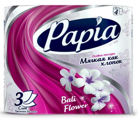 """Туалетная бумага """"Балийский цветок"""" (4 рулона) — фото, картинка"""