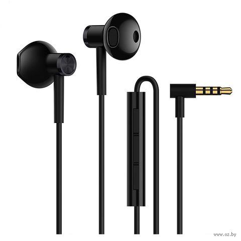 Наушники Xiaomi Mi Dual Driver Earphones (черные) — фото, картинка