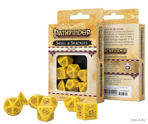 """Набор кубиков """"Pathfinder. Skull and Shackles"""" (7 шт.) — фото, картинка"""