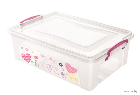 Ящик для хранения с крышкой (10 л)