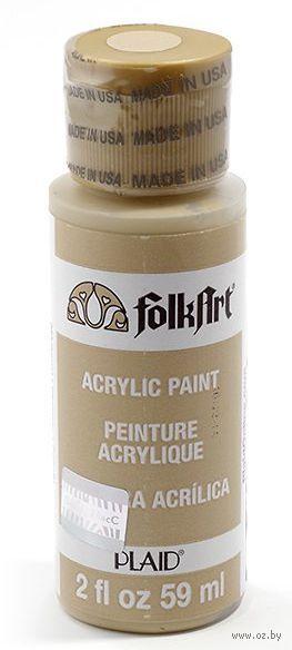 "Краска акриловая ""FolkArt. Acrylic Paint"" (верблюжий, 59 мл; арт. PLD-00953)"