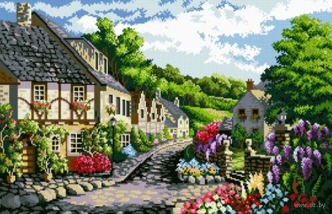 """Алмазная вышивка-мозаика """"Очарование лета"""" (700х450 мм) — фото, картинка"""