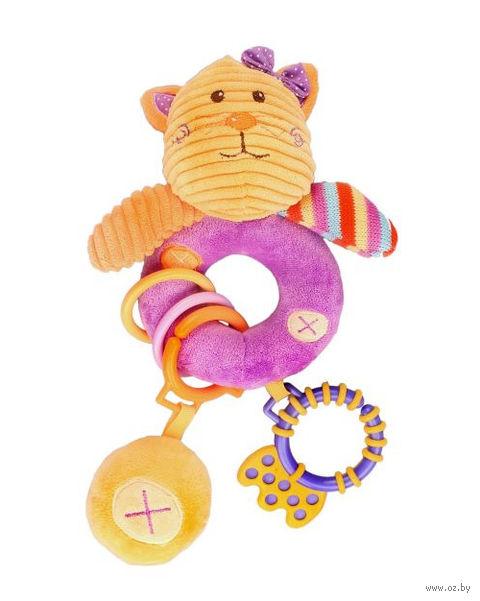"Мягкая игрушка-пищалка ""Кошка Лили"""