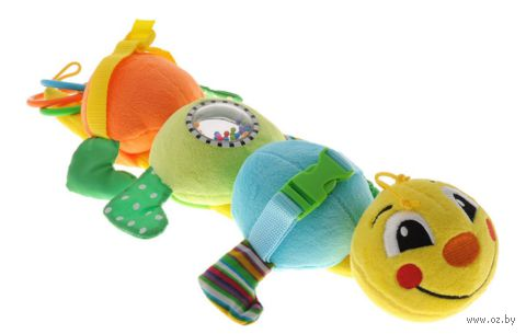 "Мягкая игрушка ""Гусеница Дарси"""