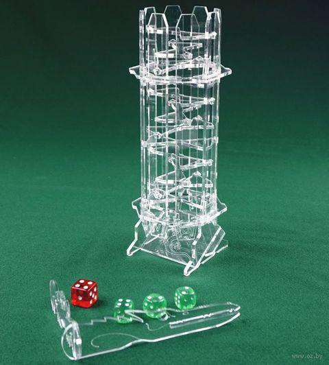"""Башня для бросков кубиков """"Хрустальная"""" — фото, картинка"""