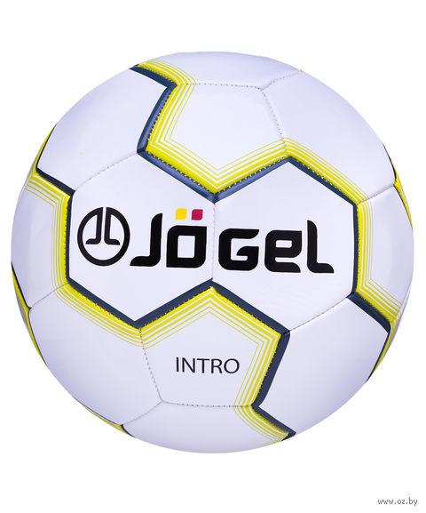 """Мяч футбольный Jogel """"Intro"""" №5 (белый) — фото, картинка"""