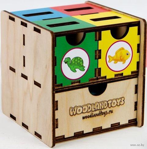 """Деревянная игрушка """"Комодик. Морские обитатели"""" — фото, картинка"""