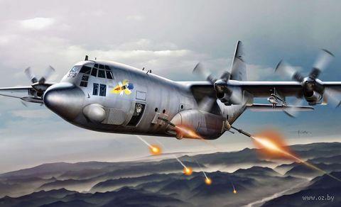 """Сборная модель """"Самолет AC-130H """"Spectre"""" (масштаб: 1/72) — фото, картинка"""
