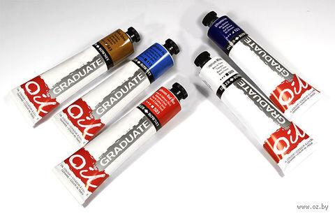 """Краска масляная """"Graduate Oil"""" (голубая ФЦ; 38 мл)"""