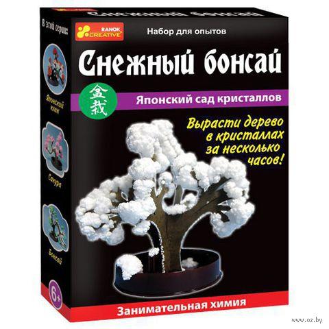 """Набор для выращивания кристаллов """"Снежный бонсай"""""""