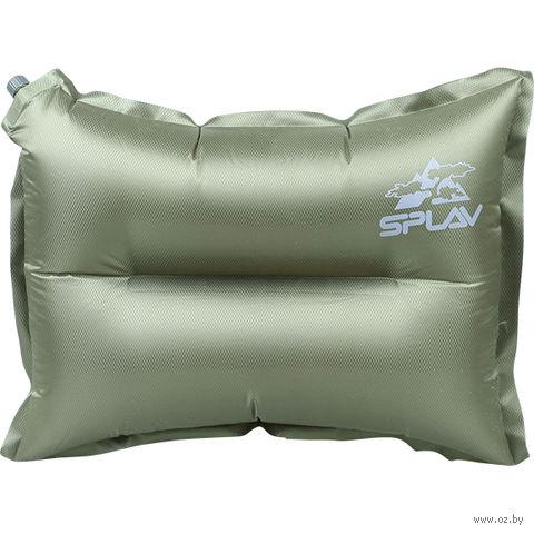 Подушка самонадувная (оливковый)