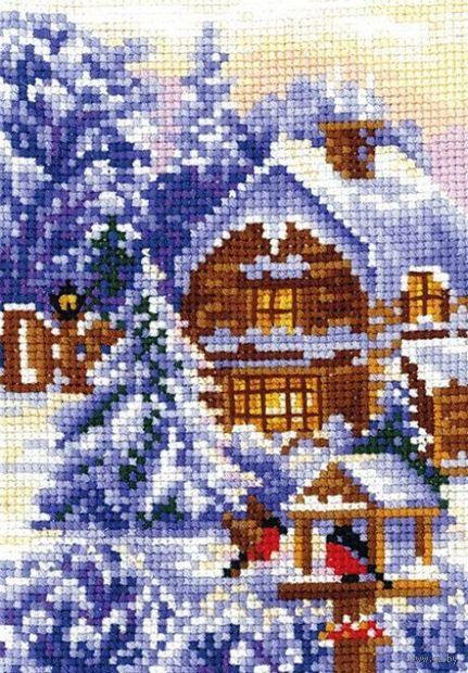 """Вышивка крестом """"Времена года. Зима"""""""