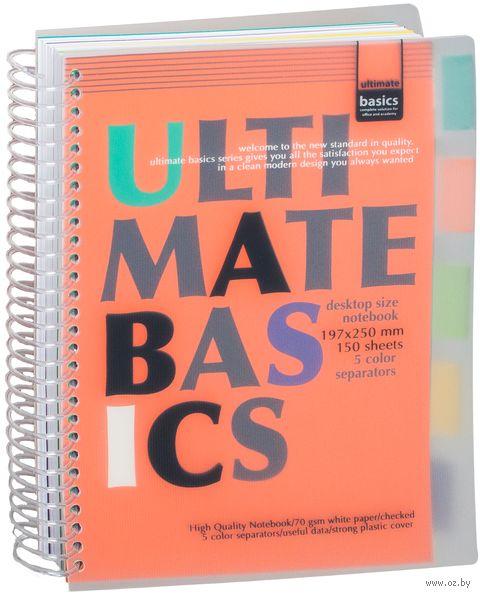 """Блокнот в клетку """"Ultimate Basics"""" (А4) — фото, картинка"""