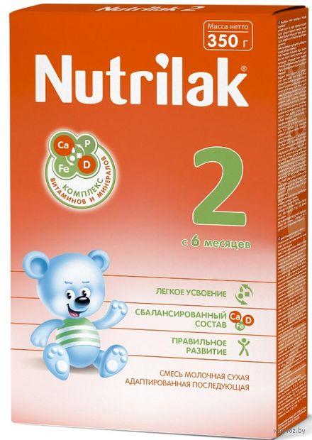 """Сухая молочная смесь """"Nutrilak 2"""" (350 г) — фото, картинка"""