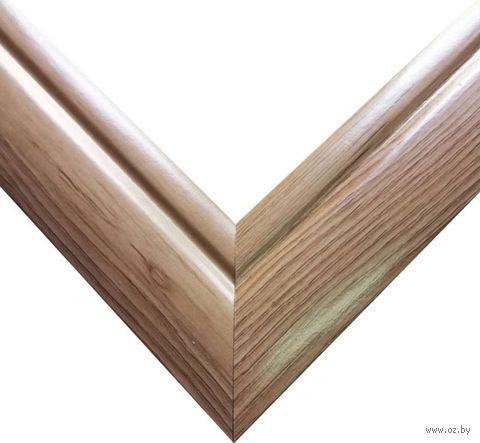 Рамка деревянная для картины по номерам (40х50 см; береза) — фото, картинка