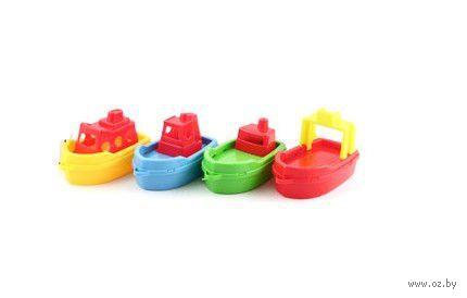 """Набор игрушек для купания """"Кораблики"""" (4 шт.) — фото, картинка"""