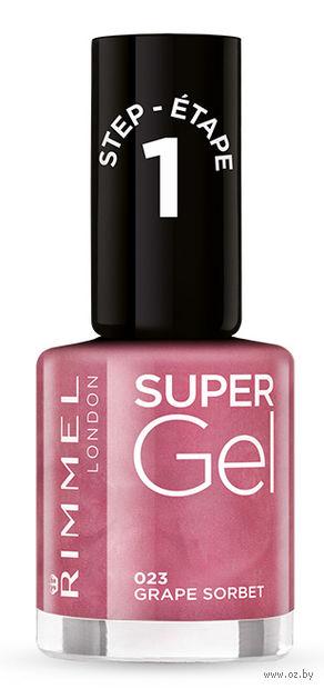 """Гель-лак для ногтей """"Super Gel"""" (тон: 023) — фото, картинка"""