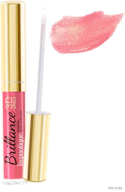 """Блеск для губ """"Brillance hypnotique 3D"""" (тон: 44, романтичный розовый) — фото, картинка"""