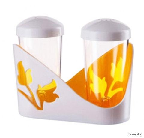 """Набор для специй """"Viola"""" (оранжевый) — фото, картинка"""